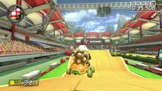 Excitebike Arena - 1:34.843 - Vιcτrσηγχ (Mario Kart 8 World Record)
