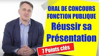 Présentation oral de concours fonction publique : exemples et erreurs à éviter