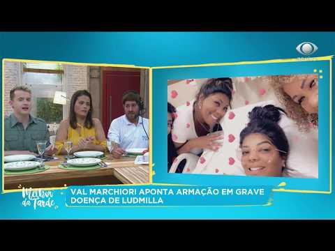 Val Marchiori aponta armação em doença de Ludmilla