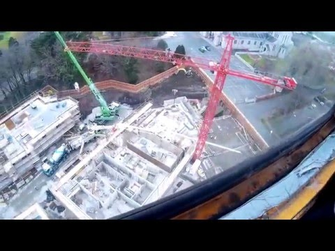 A day in the life of a tower crane driver (a snippet)