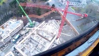A day in the life of a tower crane operator (a snippet)