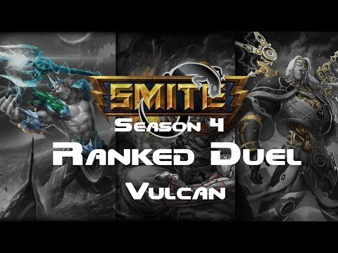 Smite - Ranked 1v1 Duel (Grandmasters) - Vulcan Season 4
