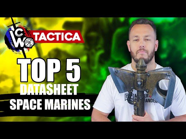 METAGAME WARHAMMER 40.000 - TOP 5 Unités Spaces  Marines