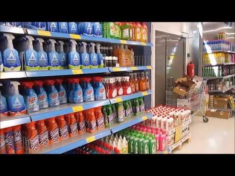 магазины в Финляндии - Покупки в  Лаппеенранте  - магазин Лапландия   полный обзор ассортимента
