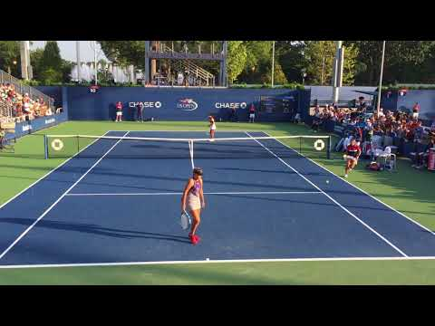 10_Sachia Vickery vs Sofia Kenin (US Open 2017 - 2nd Round)