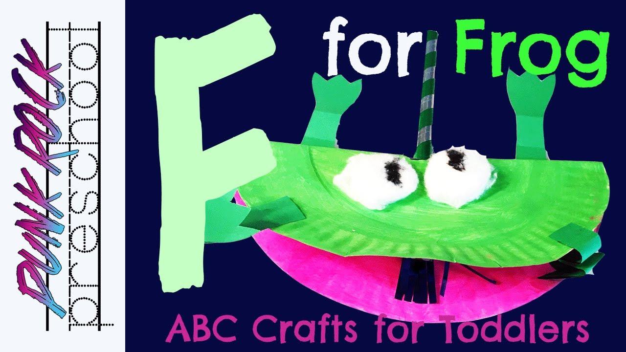 Letter F For Frog