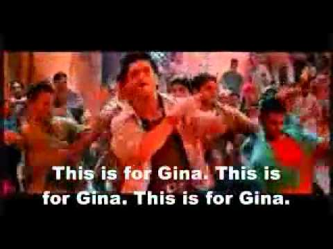 This is for Gina! Funny Indian song with English subtitles.