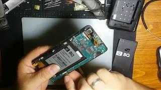 bQ BQS5020 Замена тачскрина, переклейка дисплея