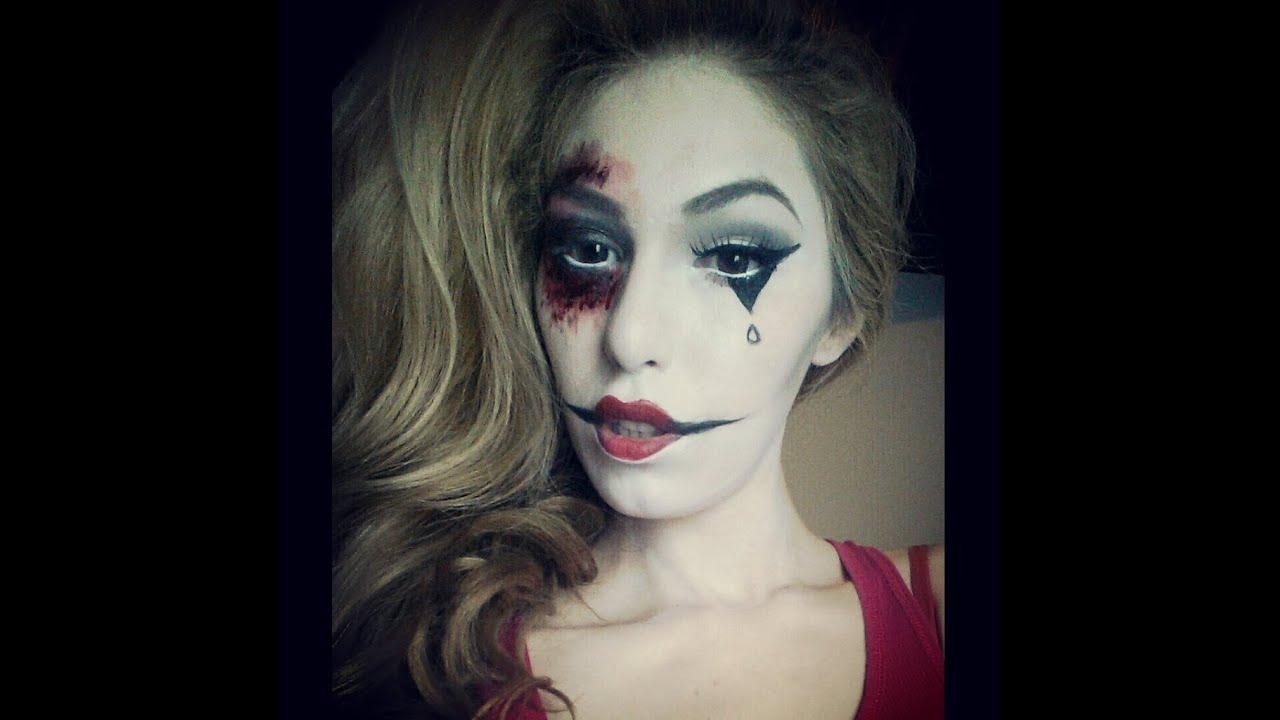 EDC Freakshow: Creepy Mime AHS Inspired Makeup - YouTube