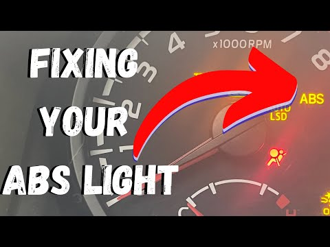 How to fix your ABS light