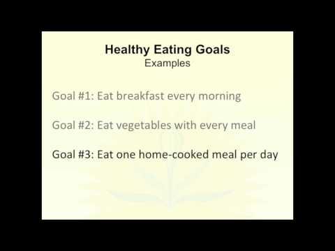 Lecture 4 - Building Healthy Habits