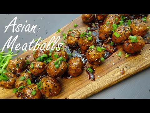 Asian Meatballs - Asian Meatballs Appetizer