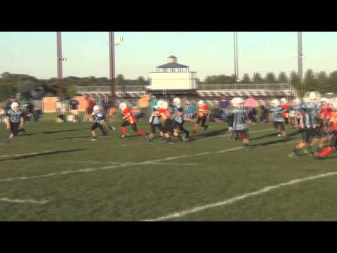 2013 Eagan Football 49ers game 5 vs Titans Highlights HQ EAA Football