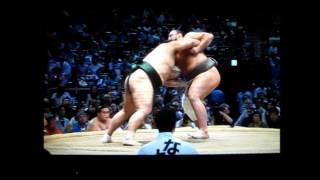 【相撲】隠岐の海vs栃ノ心 平成28年夏場所 sumo okinoumi vs tochinoshi...