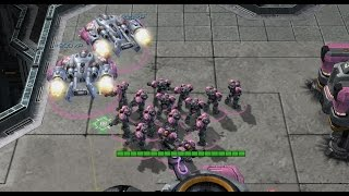 2-1-1 T Opening for all MU + Medivac Bio Micro - The PiG Daily #157