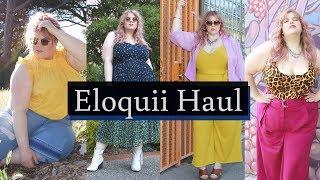 Plus Size Fashion Haul with Eloquii