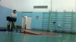 Урок физкультуры в школе (смотреть до конца)