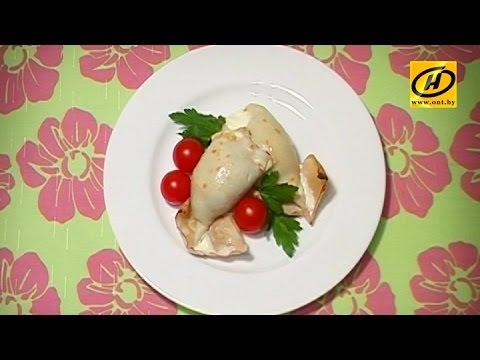 Фаршированные кальмары: диетический рецепт