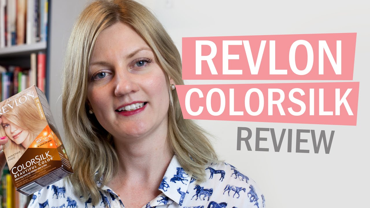 Ash blonde Revlon colorsilk light