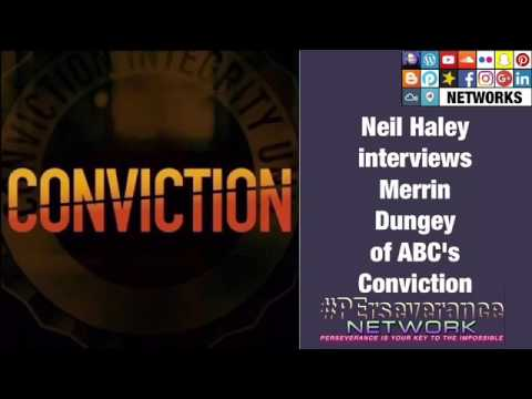 Neil Haley s Merrin Dungey of ABC's Conviction