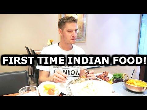 HIS FIRST TIME INDIAN FOOD! - TRAVEL VLOG 365 AMSTERDAM   ENTERPRISEME TV