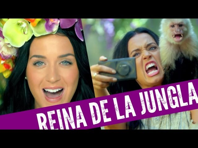 ¡Katy Perry 'Roar' Reina De La Jungla! Videos De Viajes