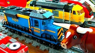 Lego City Freight Train 60052 Mystery Brick & Battery Pack Problems Pt1