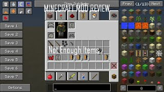 Minecraft 1.6.4 Mod Review-Not Enough Items