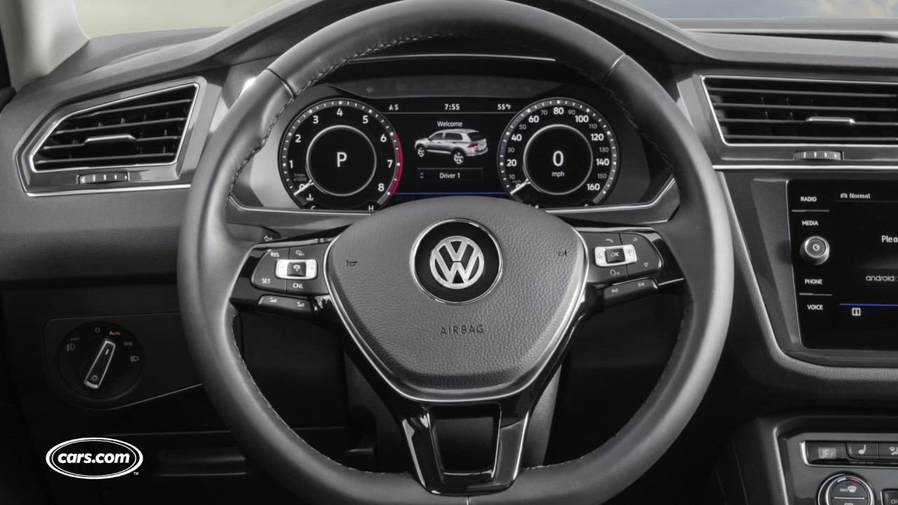 2018 Vw Tiguan Review First Impressions Youtube
