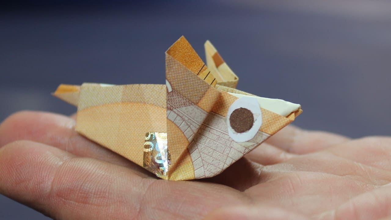 Geld falten Geldscheine falten Maus Geldgeschenk basteln YouTube ~ 01153827_Liegestuhl Basteln Mit Geldschein