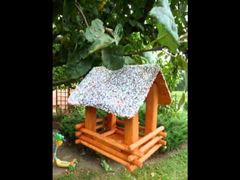 Wyroby Ogrodowe Z Drewna Drewniane Dekoracje