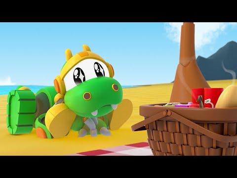 Скачать animal mechanicals ep picnic di rex cartone animato