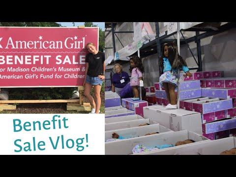 American Girl Benefit Sale Vlog & Haul