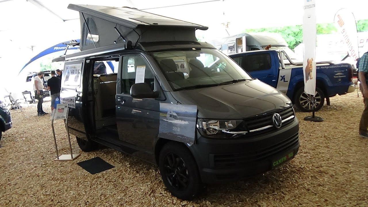 2018 volkswagen t6 campmobil hk 4 9 exterior and interior abenteuer allrad bad kissingen. Black Bedroom Furniture Sets. Home Design Ideas