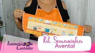 Cozinha Kit Semaninha Avental – Isamara Custódio