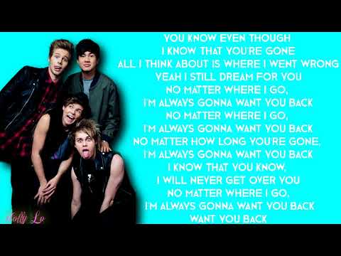 5 Seconds Of Summer - Want You Back (with LYRICS)