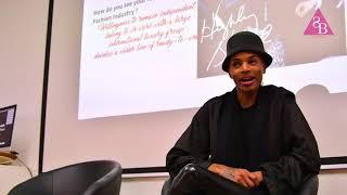 Stevie Boi speaks to LISAA Fashion Paris students