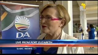 Vuyo Mvoko speaks to outgoing DA leader Helen Zille