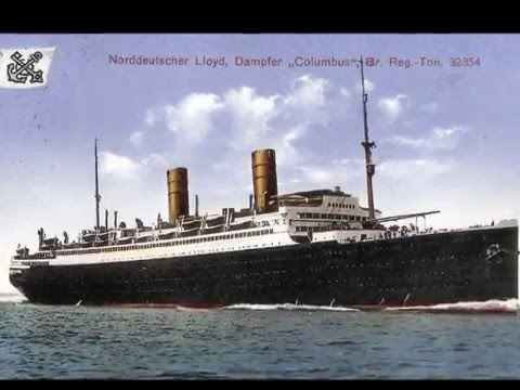 s.s. Columbus  and the Ocean Flyers - North German Lloyd