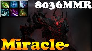 Dota 2 - Miracle- 8036MMR Plays Shadow Fiend vol 9# - Ranked Match Gameplay