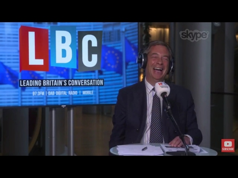 The Nigel Farage Show: Corbyn & Labour's Manifesto. Live LBC - 16th May 2017
