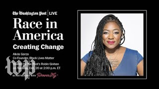 Black Lives Matter Co-Founder Alicia Garza on her book & creating change (Full Stream 10/20)