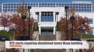 Repairing abandoned james mapp building ...