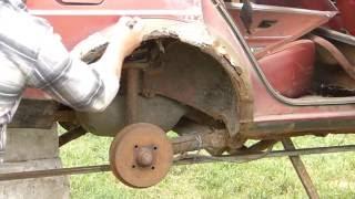 Volkswagen Passat B2.Фольксваген-Пассат-В2 (сантана) варим арки ,пороги.ремонт авто.Ч.1