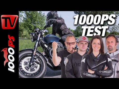 Moto Guzzi V9 Bobber Test - 1000PS Bobber Vergleich 2018