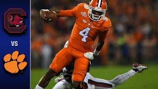getlinkyoutube.com-Clemson vs. South Carolina Football Highlights (2016)