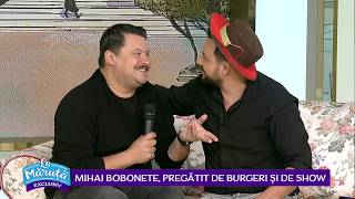 Mihai Bobonete, pregatit de burgeri si show