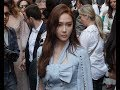 Jessica Jung 제시카 정 attends the Ralph and Russo Couture fashion show in Paris - July 2nd 2018