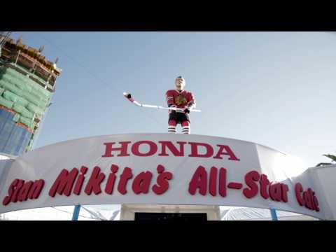 Honda Brings Stan Mikita's All-Star Cafe to the 2017 Honda NHL All-Star Weekend in Los Angeles