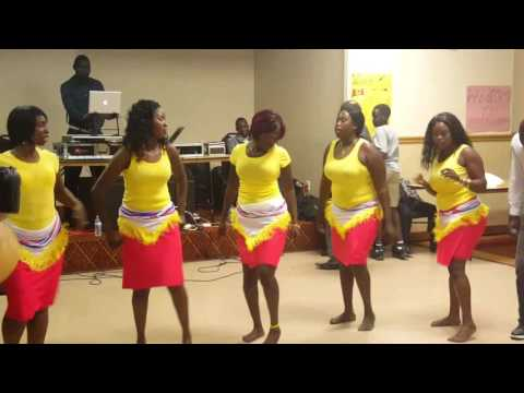 OD BONNY performance- acholi music video youth conference